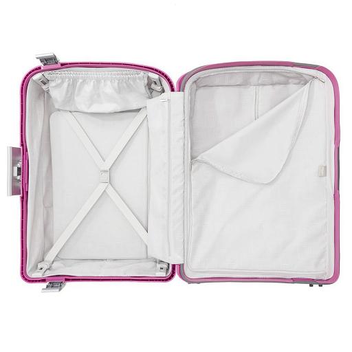 ffe4b32375970 Delsey Belfort Plus walizka średnia różowa - Dielle - najlżejsze ...
