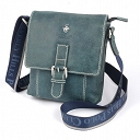 Beverly Hills Polo Club BH-322 torba na ramię Nebrasca blue